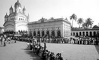 11.2003 Calcutta (Orissa)<br /> <br /> Temple where the holy man Ramakrisna was priest.<br /> <br /> Temple ou le saint Ramakrisna fût prêtre.