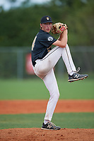 Drew Gray (34) during the WWBA World Championship at Lee County Player Development Complex on October 10, 2020 in Fort Myers, Florida.  Drew Gray, a resident of Swansea, Illinois who attends IMG Academy, is committed to Arkansas.  (Mike Janes/Four Seam Images)
