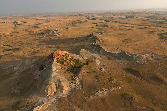 Bad Lands Rock Formations