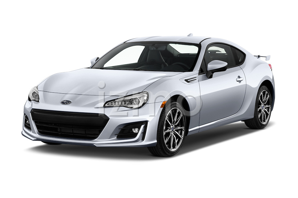 2018 Subaru BRZ Limited 2 Door Coupe Angular Front stock photos of front three quarter view