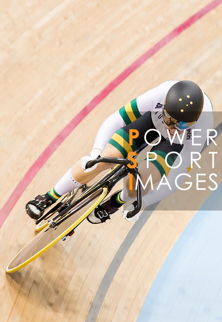 Holly Takos of the Australia Team competes in the Women's Sprint - Qualifying as part of the 2017 UCI Track Cycling World Championships on 13 April 2017, in Hong Kong Velodrome, Hong Kong, China. Photo by Chris Wong / Power Sport Images