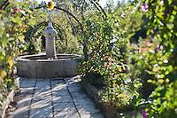 Europe/France/Provence-Alpes-Côte d'Azur/13/Bouches-du-Rhône/Env d'Arles/Le Sambuc: Potager bio du Restaurant Bio: La Chassagnette