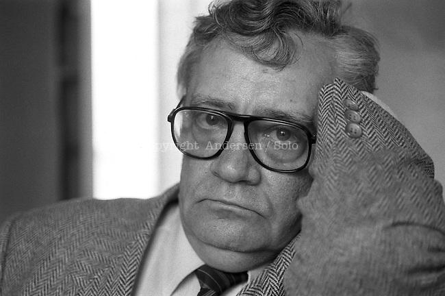 Vladimir Maximov (1930-1995) ,  in September 1984.