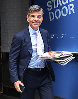 NEW YORK, NY- July 21: George Stephanopoulos exits ABC Studios in New York City on July 21, 2021. Credit: RW/MediaPunch