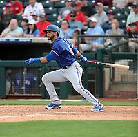 Anderson Tejeda - Texas Rangers 2020 spring training (Bill Mitchell)