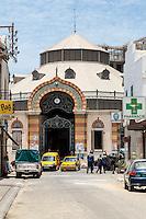 Dakar. Senegal.  Kermel Market, a fruit and vegetable market, restored 1997 to its 1860s appearance.