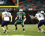 Tulane defeats Rice 54-49 in football action at the Louisiana Superdome.