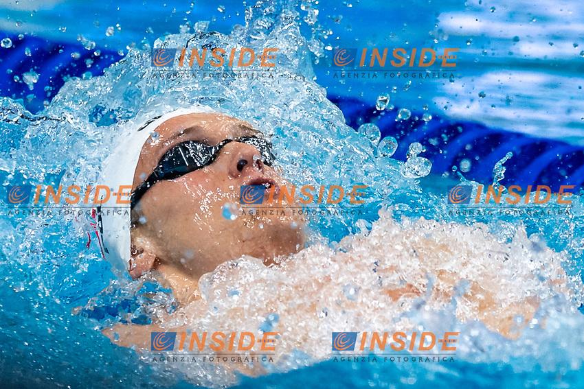 STOKOWSKI Kacper POL<br /> 100m Backstroke Men Heats<br /> Swimming<br /> Budapest  - Hungary  19/5/2021<br /> Duna Arena<br /> XXXV LEN European Aquatic Championships<br /> Photo Giorgio Scala / Deepbluemedia / Insidefoto