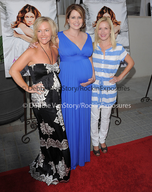 "Rachael Harris,Jenna Fischer and Angela Kinsey attends the L.A. Premiere of ""A Little Help"" held at Sony Pictures Studios in Culver City ,California on July 14,2011                                                                               © 2011 DVS / Hollywood Press Agency"