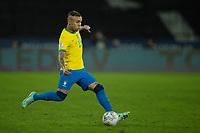 5th July 2021; Nilton Santos Stadium, Rio de Janeiro, Brazil; Copa America, Brazil versus Peru; Éverton of Brazil