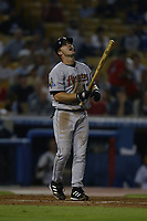 Jeff Kent of the Houston Astros during a 2003 season MLB game at Dodger Stadium in Los Angeles, California. (Larry Goren/Four Seam Images)