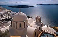 Kirche Agios Ioanis in Fira, , Insel Santorin (Santorini), Griechenland, Europa