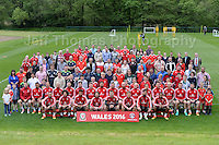 The Welsh squad with the Vauxhall award winners during the Wales Open Training Session on Wednesday 1st June 2016 at the Vale Resort, in the Vale of Glamorgan. <br /> <br /> <br /> Jeff Thomas Photography -  www.jaypics.photoshelter.com - <br /> e-mail swansea1001@hotmail.co.uk -<br /> Mob: 07837 386244 -