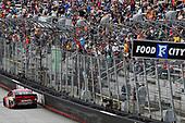 #18: Kyle Busch, Joe Gibbs Racing, Toyota Camry Snickers celebrates his win