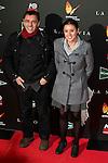 "Juan Carlos Monedero and Irene Monteroattends to the premiere of the spanish movie ""La Novia"" at Callao City Lights in Madrid, December 01, 2015<br /> (ALTERPHOTOS/BorjaB.Hojas)"