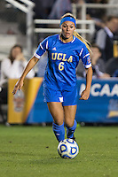 Lauren Kaskie. UCLA advanced on penalty kicks after defeating Virginia, 1-1, in regulation time at the NCAA Women's College Cup semifinals at WakeMed Soccer Park in Cary, NC.