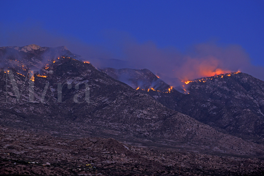 """The June 2003 """"Aspen"""" Forest Fire in the Santa Catalina Mountains north of Tucson, Arizona (2)"""