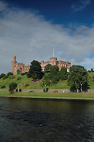 Inverness Castle and the River Ness, Inverness, Highlands<br /> <br /> Copyright www.scottishhorizons.co.uk/Keith Fergus 2011 All Rights Reserved