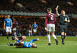 Barrie McKay scythed down by Callum Paterson and booked