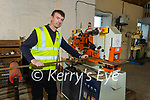 Jamie Healy of Healy Fabrications, Kilmorna Listowel