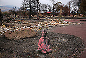 Talent, Oregon<br /> September 19, 2020<br /> <br /> Wildfires ravaged the town of Talent in south-eastern Oregon. Owners look for personal items that survived.