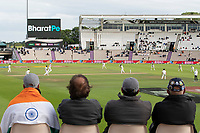 A view from the spectator seats across the ground on day 5, evening session during India vs New Zealand, ICC World Test Championship Final Cricket at The Hampshire Bowl on 22nd June 2021