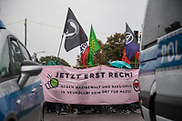2020/08/30 Berlin | Neukoelln | Antifaschistische Demonstration