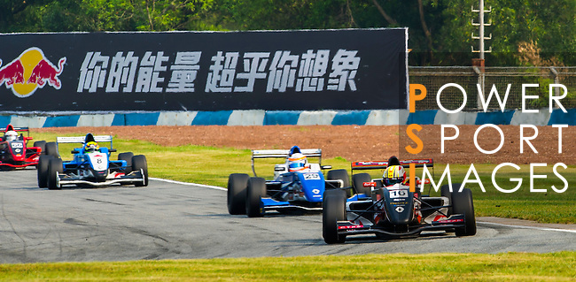 Dan Wells of BlackArts Racing (KCMG) drives during the 2015 AFR Series as part of the 2015 Pan Delta Super Racing Festival at Zhuhai International Circuit on September 19, 2015 in Zhuhai, China.  Photo by Moses Ng/Power Sport Images