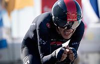 Richard Carapaz (ECU/INEOS Grenadiers)<br /> <br /> Stage 20 (ITT) from Libourne to Saint-Émilion (30.8km)<br /> 108th Tour de France 2021 (2.UWT)<br /> <br /> ©kramon
