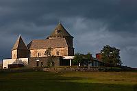 Europe/France/Auvergne/15/Cantal/Chaudes-Aigues: Le Château de Couffour  et le Restaurant: Serge Vieira, au Château de Couffour