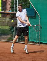 2013-08-17, Netherlands, Raalte,  TV Ramele, Tennis, NRTK 2013, National Ranking Tennis Champ, David de Goede<br /> Photo: Henk Koster