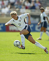 Kristine Lilley, USWNT vs. Mexico, September 7, 2003.