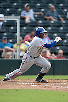 St. Lucie Mets designated hitter Maikis De La Cruz (3) during a game against the Fort Myers Miracle on April 19, 2015 at Hammond Stadium in Fort Myers, Florida.  Fort Myers defeated St. Lucie 3-2 in eleven innings.  (Mike Janes/Four Seam Images)