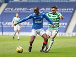 02.05.2021 Rangers v Celtic: Glen Kamara and Greg Taylor