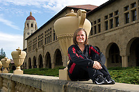 Corinne Smith of the 2010 Stanford Synchronized Swimming team.