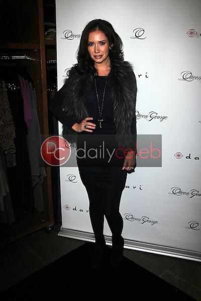 Ashley Jones<br /> at the Launch Party for Q by Jodi Lyn O'Keefe, Dari Boutique, Studio City, CA 01-23-12<br /> David Edwards/DailyCeleb.com 818-249-4998