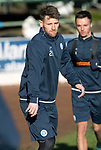 St Johnstone Training….26.01.18<br />Trilaist Jonathan Franks pictured during a training session at McDiarmid Park this morning ahead of tommorrow's game against Partick Thistle.<br />Picture by Graeme Hart.<br />Copyright Perthshire Picture Agency<br />Tel: 01738 623350  Mobile: 07990 594431