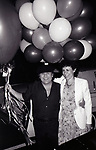 Danny Devito and Rhea Perlman attends a party on May 16, 1982 at elaine's in New York City.