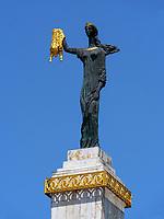 Statue der Medea mit goldenem Vlies am Europaplatz, Batumi, Adscharien - Atschara, Georgien, Europa<br /> statue of Medea with Golden Fleece on Europe Square, Batumi, Adjara,  Georgia, Europe