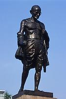 Denkmal von Mahatma Gandhi, Bombay (Mumbai), Maharashtra, Indien