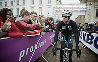 Zdenek Stybar (CZE) to the start podium<br /> <br /> Omloop Het Nieuwsblad 2014