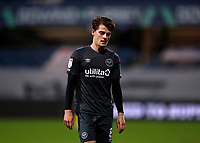 17th February 2021; The Kiyan Prince Foundation Stadium, London, England; English Football League Championship Football, Queen Park Rangers versus Brentford; Mathias Jensen of Brentford