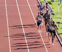 4th July 2021; Stockholm Olympic Stadium, Stockholm, Sweden; Diamond League Grand Prix Athletics, Bauhaus Gala; Timothy Cheryuiyot wins the mens 1500m final