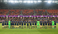 HOUSTON, TX - JUNE 13: USWNT during a game between Jamaica and USWNT at BBVA Stadium on June 13, 2021 in Houston, Texas.