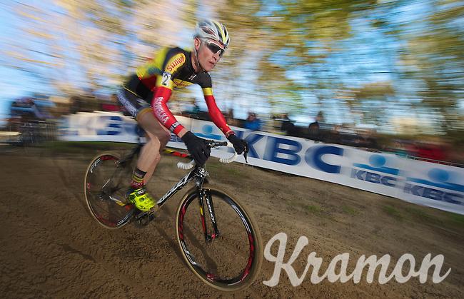 Belgian Champion Klaas Vantornout (BEL)<br /> <br /> Vlaamse Duinencross Koksijde 2013