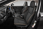 Front seat view of 2020 Subaru Crosstrek Premium 5 Door SUV Front Seat  car photos