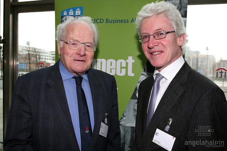 IFSC Phase 2.Institude of Bankers.March 5th 2008 .Douglas Bonnar (Alum), Aidan Brady (Citibank Ireland)