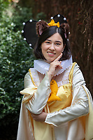 Liz Morgese as Haru, the Cat Princess from The Cat Returns, Sakura Con 2019, Seattle, Wa, USA.