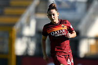 Tecla Pettenuzzo of AS Roma looks on during the women Serie A football match between AS Roma and ACF Fiorentina at Tre Fontane Stadium in Roma (Italy), November 7th, 2020. Photo Andrea Staccioli / Insidefoto