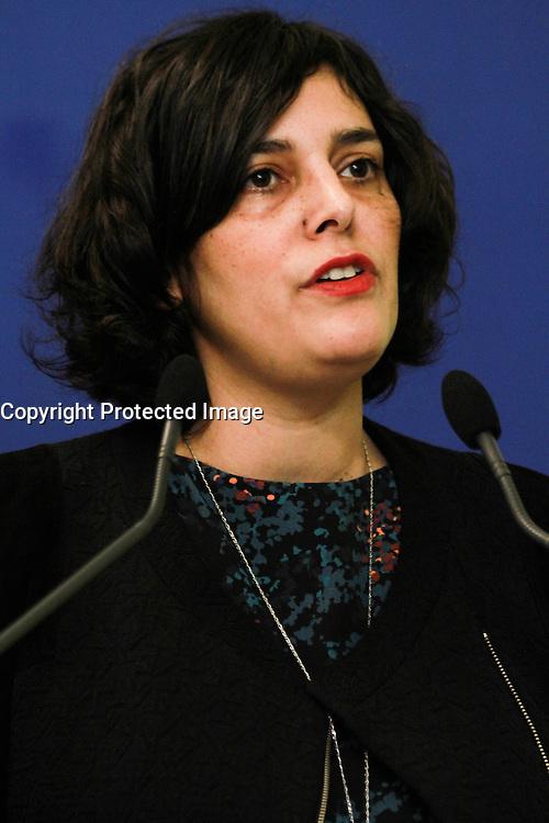 Myriam El Khomri - Clarification sur le bulletin de salaire - Paris, France - 20/02/2017